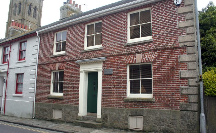 The Branwell House in Penzance, Cornwall