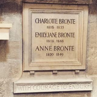 Bronte memorial, poet's corner