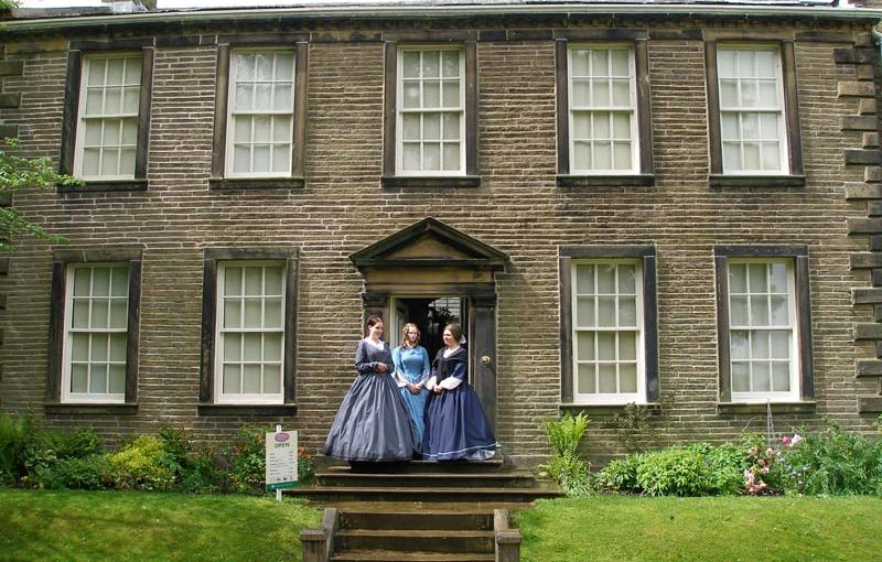 Bronte Parsonage and sisters