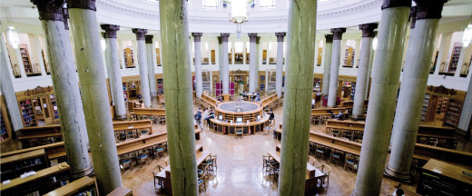 Brotherton Library, Leeds University