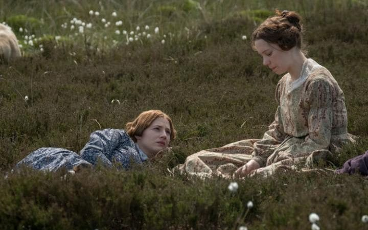 Emily Bronte with Anne in To Walk Invisible