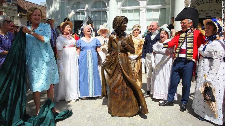 Jane Austen statue