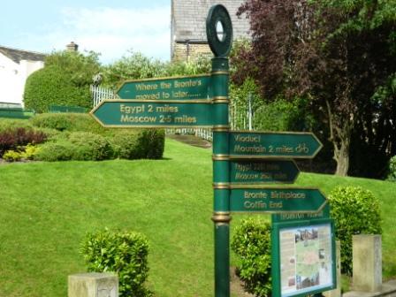 Bronte signpost Thornton