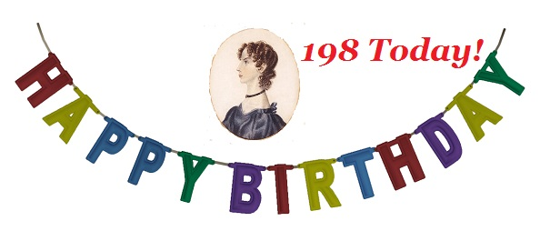 Happy Birthday Anne Bronte 198 today
