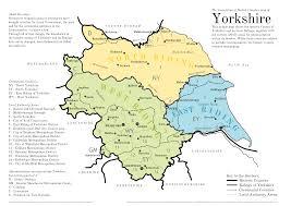Yorkshire ridings