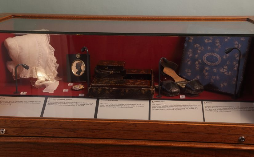 Aunt Branwell display case
