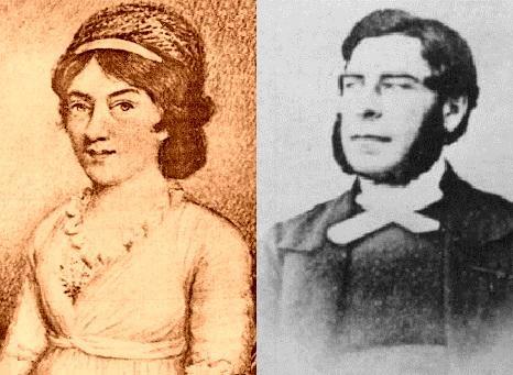 Elizabeth Branwell and Arthur Nicholls