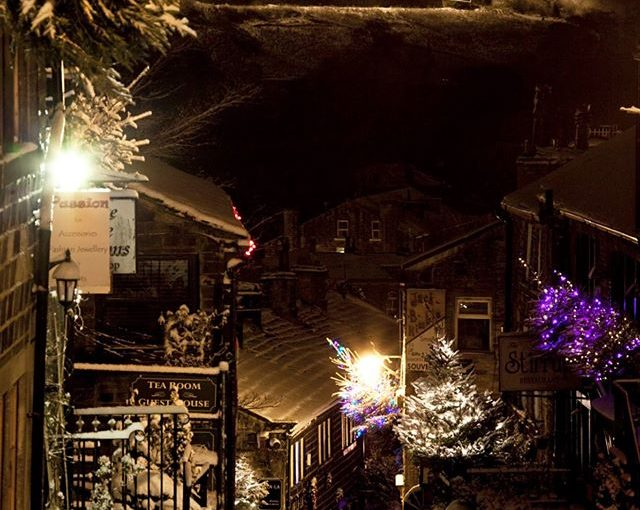 Haworth Christmas Main Street