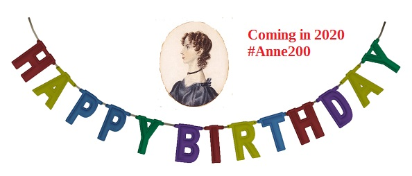 Preparing For Anne Brontë 200 In 2020